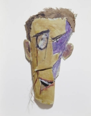 Retrat de Tzara (1919)_Marcel Janco_Centre Pompidou_Paris