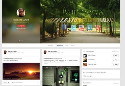 Google+ Ivan Serra