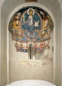 Absis de St. Climent de Taüll, al MNAC