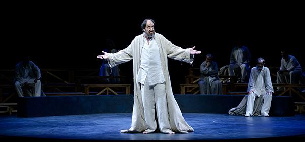 Socrates. Juicio y muerte a un ciudadano (font: www.teatreromea.com)