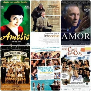 Collage pel·lícules franceses (Font: http://conlarealidadenlostalones.blogspot.com.es)